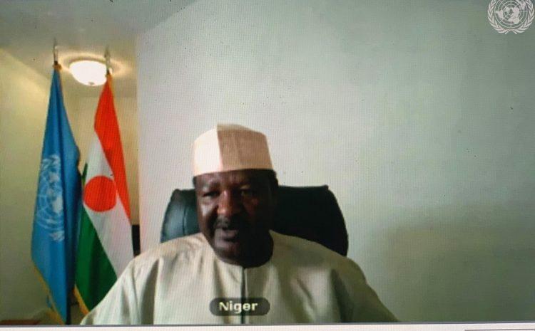 Déclaration de M. Abdou ABARRY  Représentant permanent du Niger auprès des Nations unies sur Paix et sécurité en Afrique : Le Grand Barrage de la Renaissance Ethiopienne