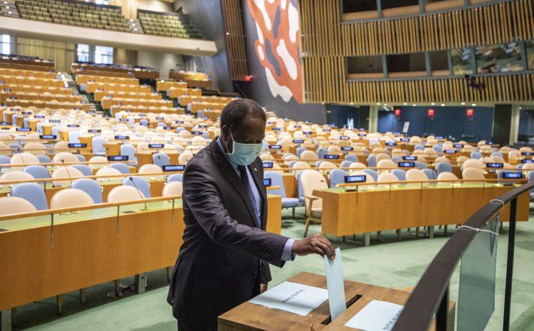 Conseil de Sécurité de l'ONU/Election de membres non permanents du Conseil Le Kenya remporte l'unique siège destiné au Groupe des Etats d'Afrique