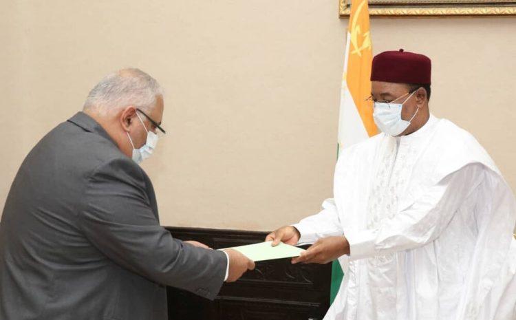 Le Président de la République a reçu mardi l'Ambassadeur d'Egypte au Niger