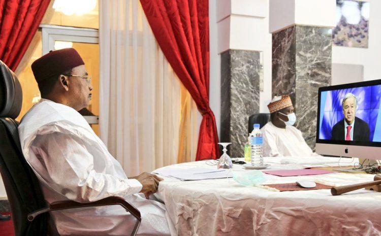 Le Président Issoufou Mahamadou, Champion Mondial de la Vaccination, a participé jeudi par visioconférence, au Sommet Mondial de la Vaccination