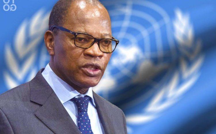Mohamed Ibn Chambas Représentant spécial du Secrétaire général et chef de l'UNOWAS au Conseil de Sécurité de l'ONU
