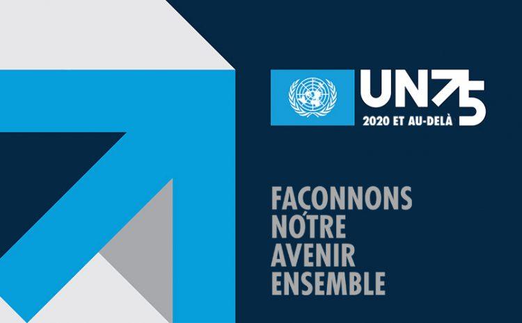 L'avenir que nous voulons, l'ONU qu'il nous faut : réaffirmer notre engagement collectif en faveur du multilatéralisme