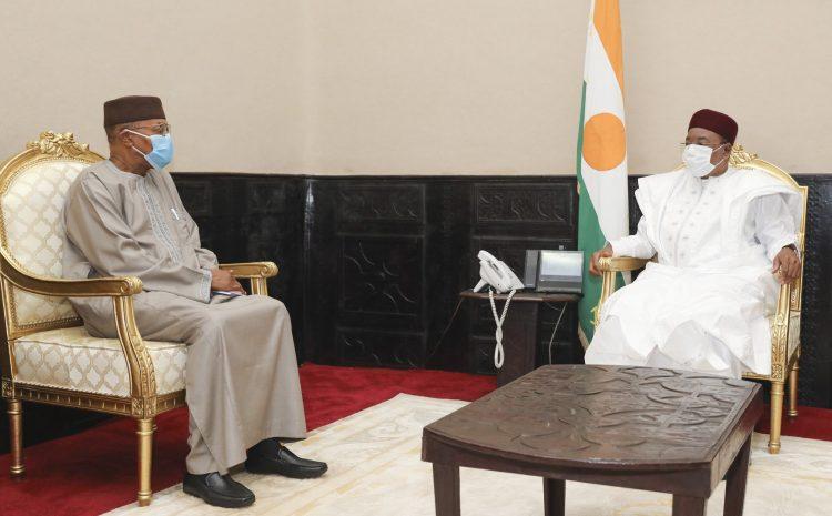 Le Président de la République a reçu vendredi le Représentant Spécial du SG de l'ONU pour l'Afrique de l'Ouest et le Sahel