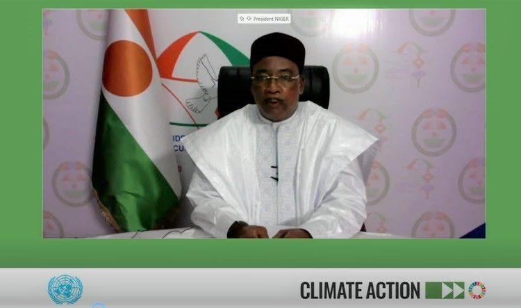 Allocution de SEM ISSOUFOU MAHAMADOU Président de la République, Président de la Commission Climat pour la Région du Sahel lors de la table ronde de haut niveau sur les changements climatiques organisée par le Secrétaire Général des Nations Unies