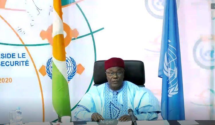 Allocution de S.E.M KALLA ANKOURAO Ministre des Affaires Etrangères et de la Coopération au Conseil de Sécurité sur les Effets Humanitaires de la Dégradation de l'Environnement sur La Paix et la Sécurité.