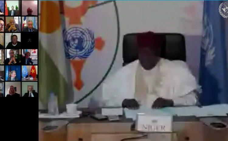 Débat virtuel du Conseil de Sécurité: Le Niger invite le Golfe persique à se doter d'un mécanisme inclusif de coopération et de règlement des différends, à travers le dialogue