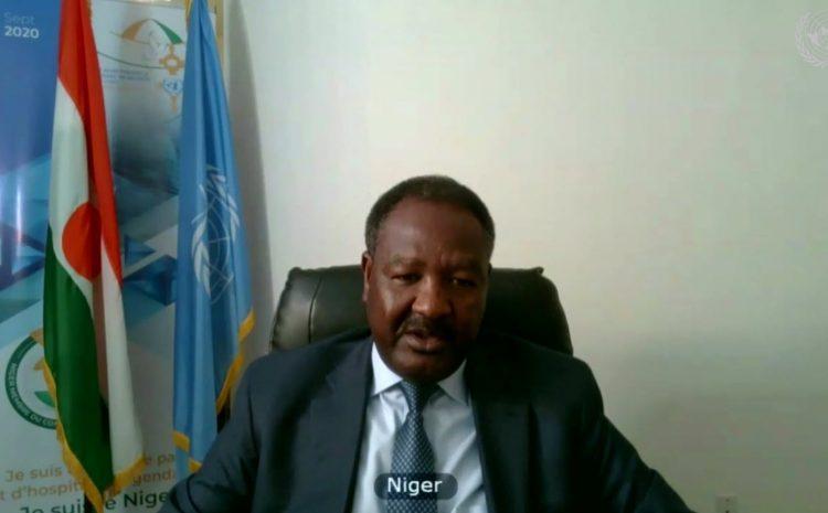 Déclaration de M. Abdou ABARRY, Représentant permanent du Niger auprès des Nations unies au nom des A3 et de Saint-Vincent-et-les-Grenadines Sur la force conjointe du G5-Sahel