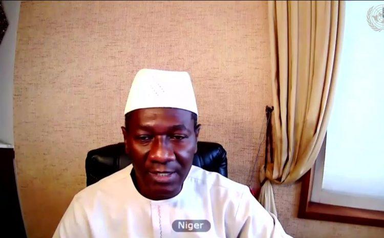 Intervention de M. Aougui NIANDOU Représentant Permanent Adjoint du Niger  Auprès des Nations Sur la situation en Bosnie – Herzégovine