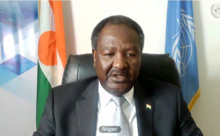 Déclaration de M. Abdou Abarry, Représentant Permanent du Niger auprès des Nations Unies Sur la situation en IRAK (UNAMI)