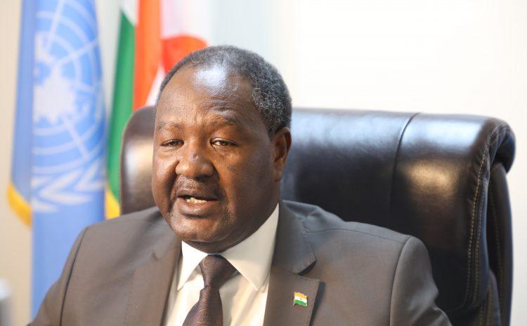 Allocution de M. Abdou ABARRY, Représentant Permanent du Niger auprès des Nations Unies     au brifieng du Conseil de Sécurité sur la situation politique en Syrie