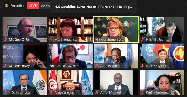 Journée internationale de la femme : Assurer la participation effective des femmes dans les processus de paix menés par les Nations unies
