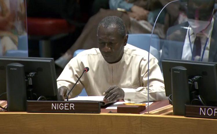 Déclaration de M. Aougui NIANDOU, Représentant Permanent-adjoint du Niger auprès des Nations sur la situation au Moyen Orient, y compris la question Palestinienne