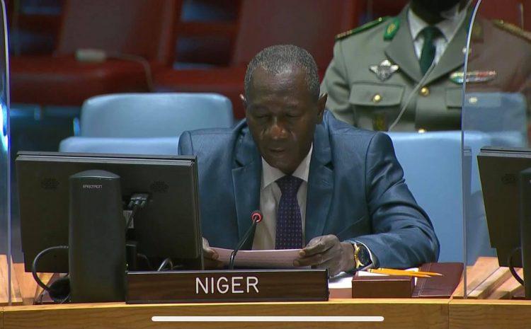 Déclaration de M. Aougui NIANDOU, Représentant Permanent Adjoint du Niger auprès des Nations Unies   au débat de Haut Niveau du Conseil de Sécurité Sur le thème : Opérations de maintien de paix et les Transitions