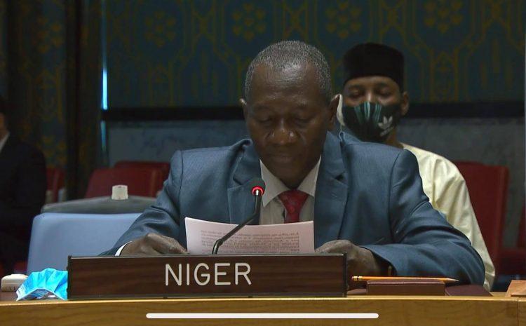 Déclaration de M. Aougui Niandou, Représentant Permanent Adjoint du Niger auprès des Nations Unies, sur le thème : « Maintien de la paix et de la sécurité internationales : discussions avec le Groupe des Sages ».
