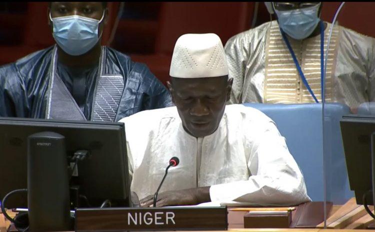 Déclaration de M. Aougui Niandou, Représentant Permanent Adjoint du Niger auprès des Nations Unies sur la situation en Libye