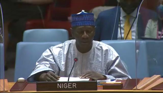 Allocution Monsieur Aougui NIANDOU, Représentant  Permanent Adjoint du Niger auprès des Nations Unies au briefing du Conseil de Sécurité sur l'utilisation  des armes chimiques en Syrie