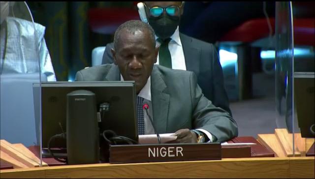 Déclaration de M. Aougui NIANDOU Représentant Permanent Adjoint de la République du Niger auprès des Nations Unies   Débat de Haut Niveau du Conseil de Sécurité Sur le thème : CONSOLIDATION DE LA PAIX ET PAIX DURABLE : DIVERSITÉ, CONSTRUCTION DE L'ÉTAT ET LA RECHERCHE DE LA PAIX