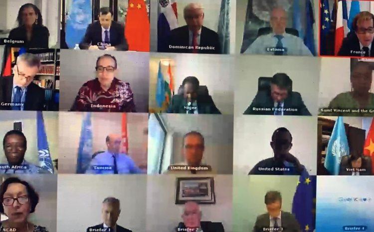Déclaration du Représentant permanent de la Tunisie au nom des A3 + 1 (Afrique du Sud, Niger, Tunisie) + Saint-Vincent-et-les Grenadines sur la République Centrafricaine