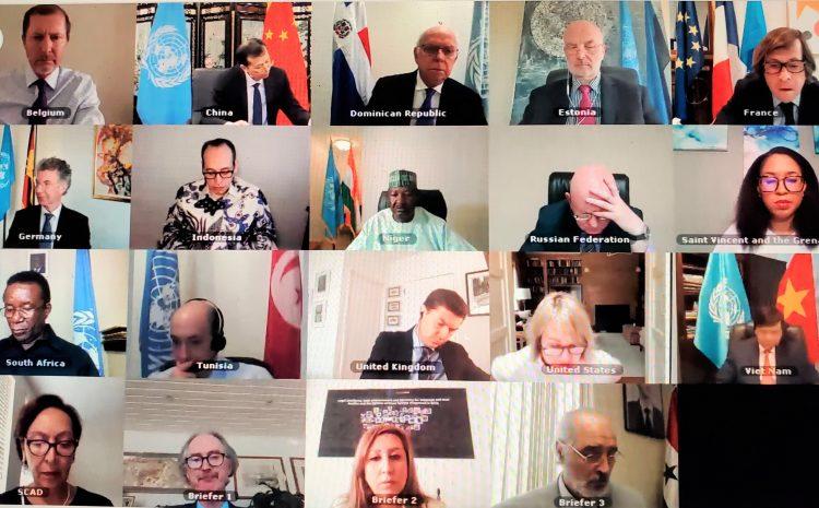 Déclaration de M. Abdou ABARRY, Représentant permanent du Niger auprès des Nations Unies lors du débat sur la situation politique en Syrie au Conseil de Sécurité…