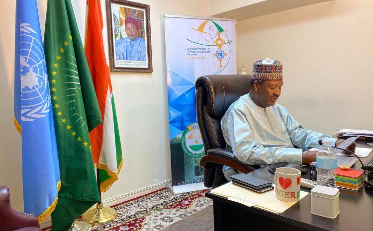 Allocution de M. Abdou ABARRY, Représentant Permanent du Niger auprès des Nations Unies au briefing du Conseil de Sécurité sur la situation en Libye