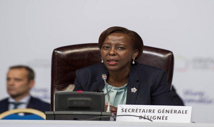 INTERVENTION DE LA SECRETAIRE GENERALE DE LA FRANCOPHONIE SE Mme LOUISE MUSHIKIWABO au débat ouvert au Conseil de sécurité des Nations unies sur le rôle de l'Organisation internationale de la Francophonie