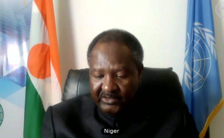 Déclaration de M. Abdou ABARRY, Représentant Permanent du Niger auprès des Nations Unies   Débat sur la Situation en Syrie