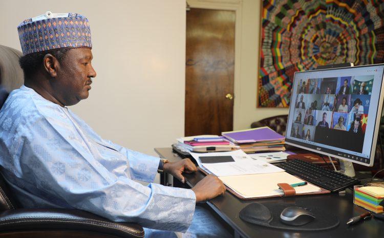 Intervention de M. Abdou ABARRY Représentant Permanent du Niger auprès des Nations Briefing du Président en Exercice de l'Organisation pour la Coopération et la Sécurité en Europe (OSCE)