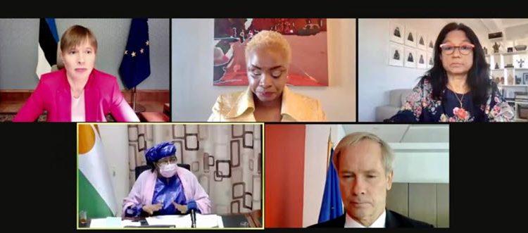 Declaration de madame Aïchatou Kané Boulama, ministre du Plan du Niger à l'évènement de haut niveau du groupe d'amis pour l'élimination des violences a l'égard des femme et des filles par  vidéoconférence