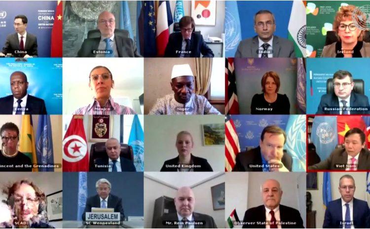 Intervention de M. Aougui NIANDOU Représentant Permanent Adjoint du Niger auprès des Nations au briefing trimestriel du Conseil de Sécurité sur la situation au Moyen Orient, y compris la question Palestinienne