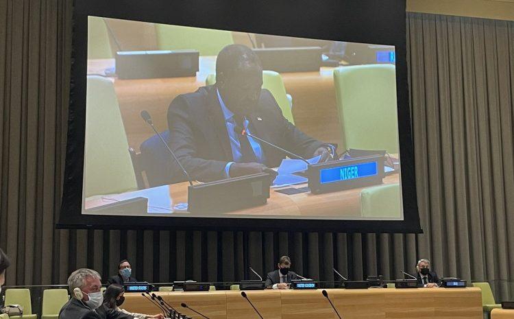 Déclaration de M. Abdou Abarry Représentant permanent du Niger auprès des Nations Unies Réunion au format Arria sur le thème : «La responsabilité par l'innovation et le partenariat : Exploiter la technologie pour rendre justice aux victimes de crimes de guerre, de crimes contre l'humanité et de génocides