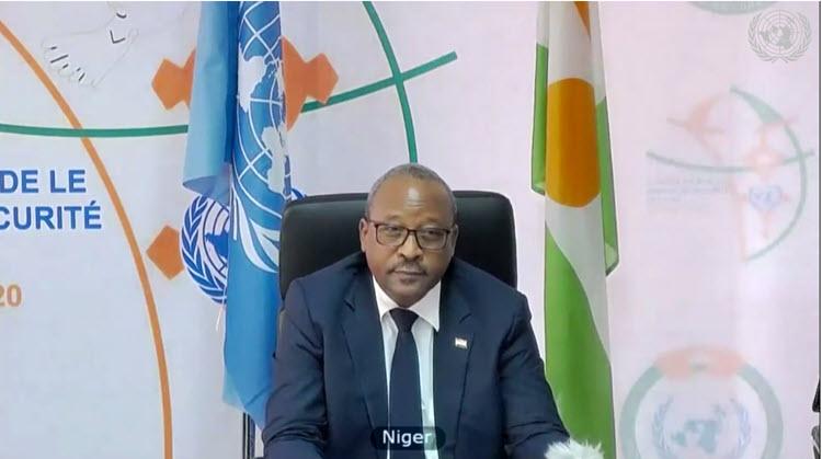 Déclaration de SEM Hassoumi Massoudou, Ministre d'État, Ministre des Affaires Étrangères et de la Coopération  au débat de Haut Niveau du Conseil de Sécurité sur le « Maintien de la paix et de la sécurité internationales : maintien du multilatéralisme et du système international centré sur les Nations unies »