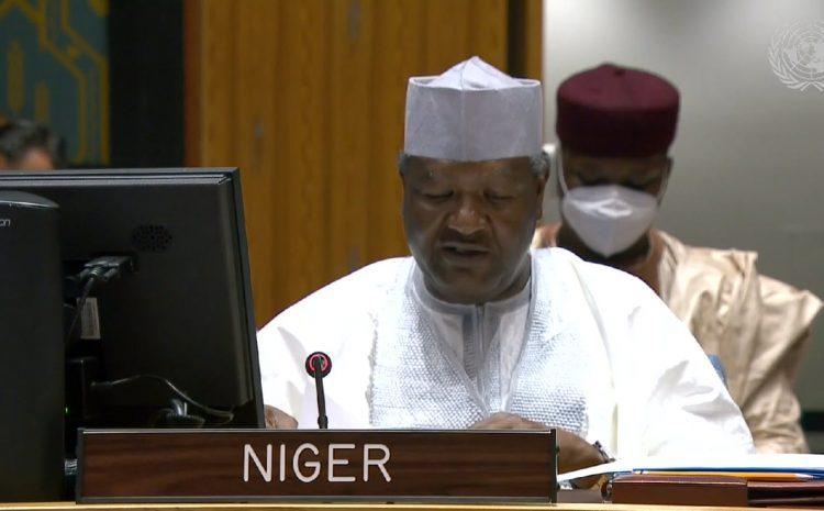 Déclaration de M. Abdou ABARRY  Représentant permanent du Niger auprès des Nations unies (Au nom des A3+1) au briefing du Conseil de sécurité sur la MINUSMA
