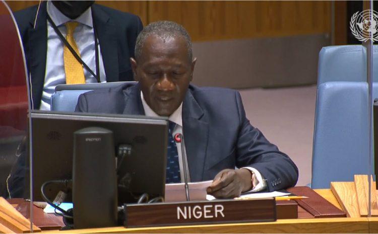 Déclaration de Aougui Niandou,  Représentant Permanent Adjoint du Niger auprès des Nations Unies au briefing du Conseil de Sécurité sur le 33ème Rapport de la Procureure de la Cour Pénale Internationale sur la situation au Darfour (Soudan)
