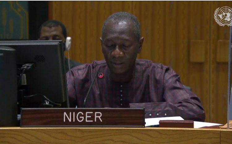 Déclaration de M. Aougui NIANDOU,  Représentant Permanent Adjoint  du Niger auprès des Nations Unies au briefing du Conseil de Sécurité sur le 33ème Rapport de la Procureure de la Cour Pénale Internationale sur la situation au Darfour (Soudan)