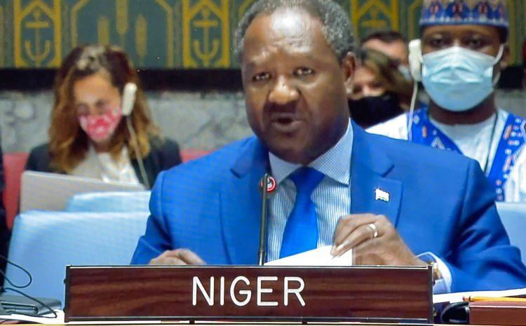 Déclaration de M. Abdou ABARRY, Représentant Permanent du Niger auprès des Nations Unies sur la situation en Libye