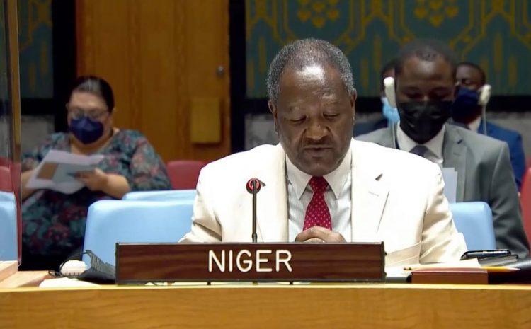 Allocution de Mr Abdou Abarry, Représentant Permanent du Niger auprès des Nations Unies     au briefing Syrie Armes chimiques