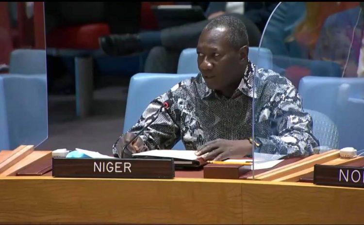 Déclaration de M. Aougui NIANDOU, Représentant Permanent du Niger auprès des Nations Unies Briefing du Conseil de Sécurité sur la situation en IRAK (UNAMI)