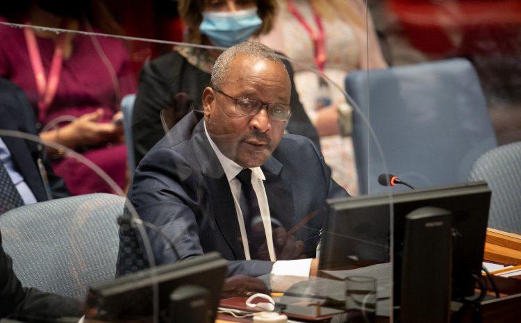 Déclaration de S.E.M. Massoudou Hassoumi, Ministre d'État Ministre des Affaires Étrangères et de la Coopération    Débat de Haut Niveau du Conseil de Sécurité Sur le thème : Le maintien de la paix et de la sécurité internationales : Climat et Sécurité