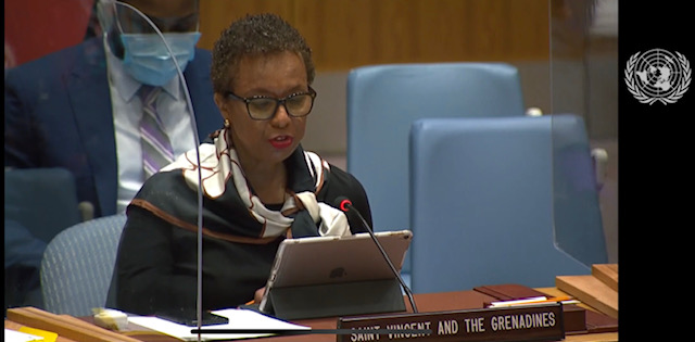 Statement by H.E. Inga Rhonda King Permanent Representative of Saint Vincent and the Grenadines to the United Nations at the briefing Concerning Haiti